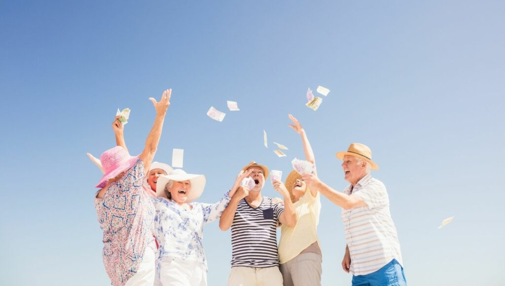 how to achieve financial wellness in older age