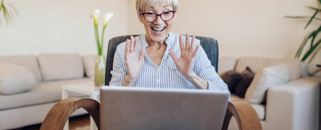online tutoring is one of the great work-from-home jobs for older adults