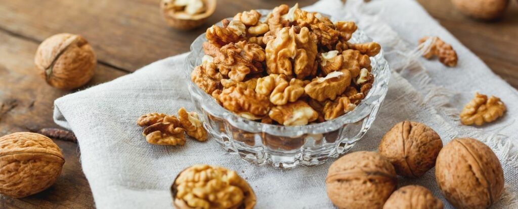 walnuts are one of the best memory boosting foods, plus they look like little brains!