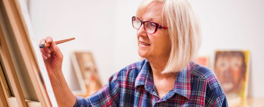 art therapy is a popular tool for memory care units
