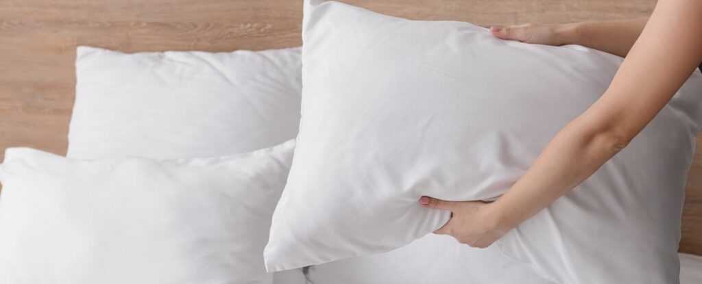 fluffing pillows and cleaning sheets will help people feel comfortable after surgery