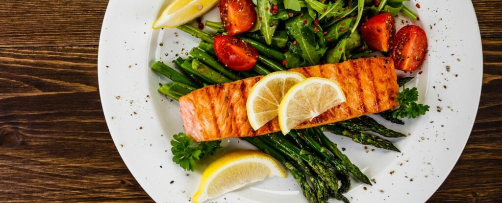 don't forget fish when eating healthy at 50