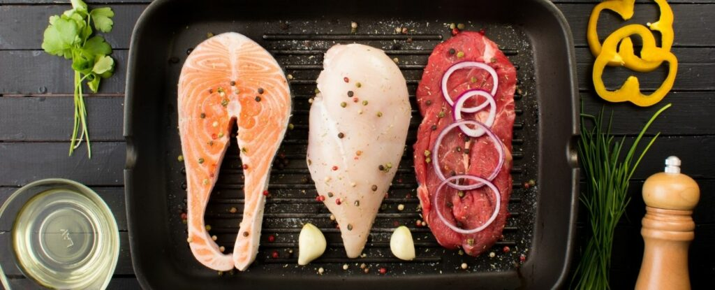 protein is key for a healthy diet in your fifties