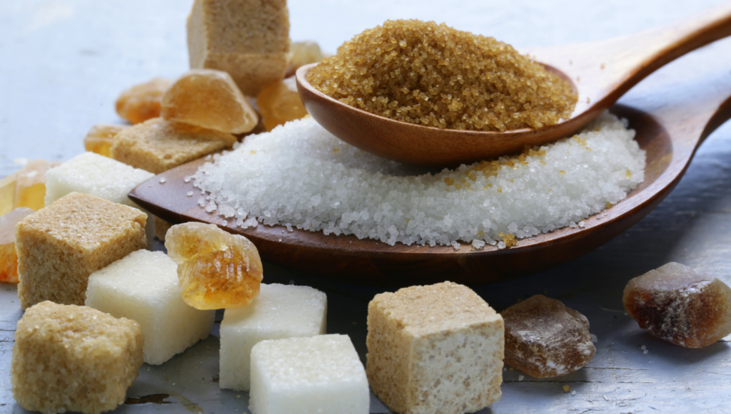 four types of healthy sugar substitutes