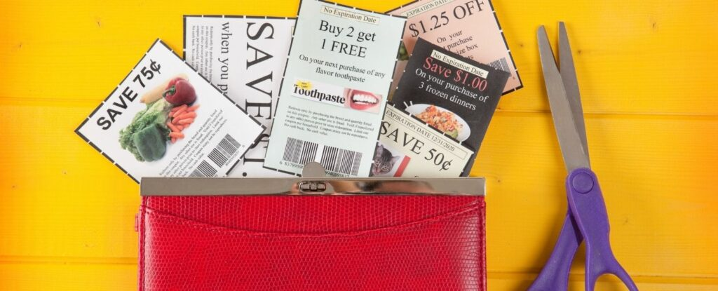 if you're looking to retire with no savings, consider clipping coupons
