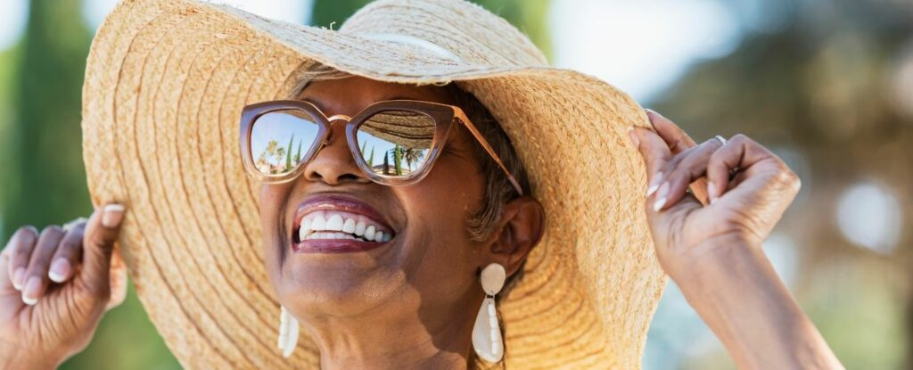 asking how to keep your eyes healthy as you age? wear sunglasses!