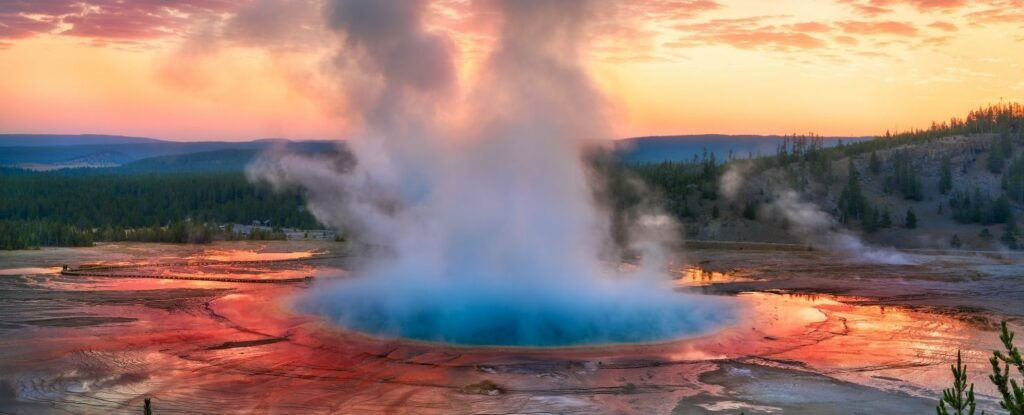 talk about bucket lists! yellowstone national park is absolutely one of the best vacation ideas for seniors