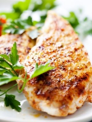 grilled chicken is healthy and makes a great post surgery meal