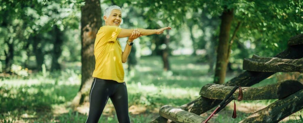 low intensity exercise is important as you get older