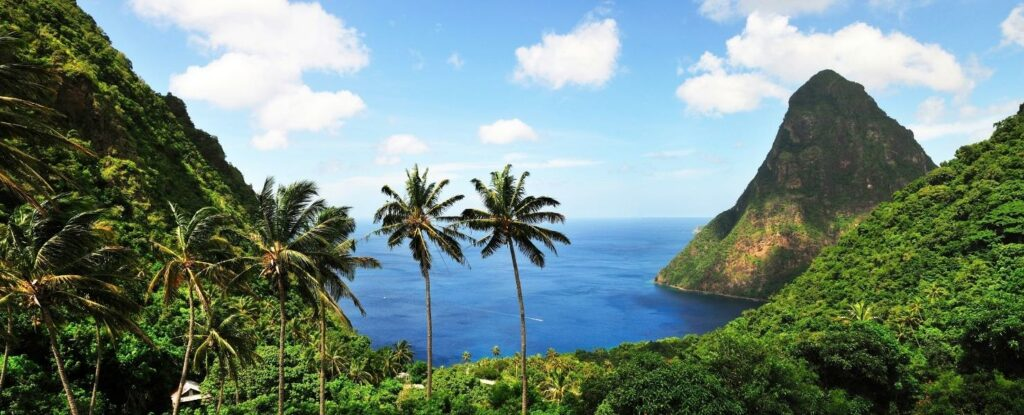 st lucia is a proper good place to vacation as a retired couple