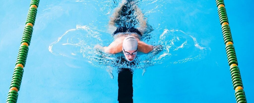 swimming is on our list of low impact workouts