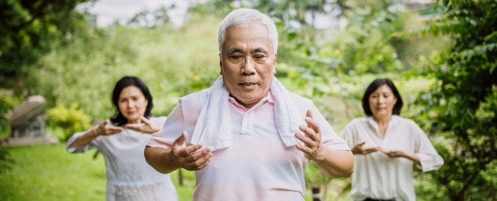 tai chi is an excellent low impact exercise