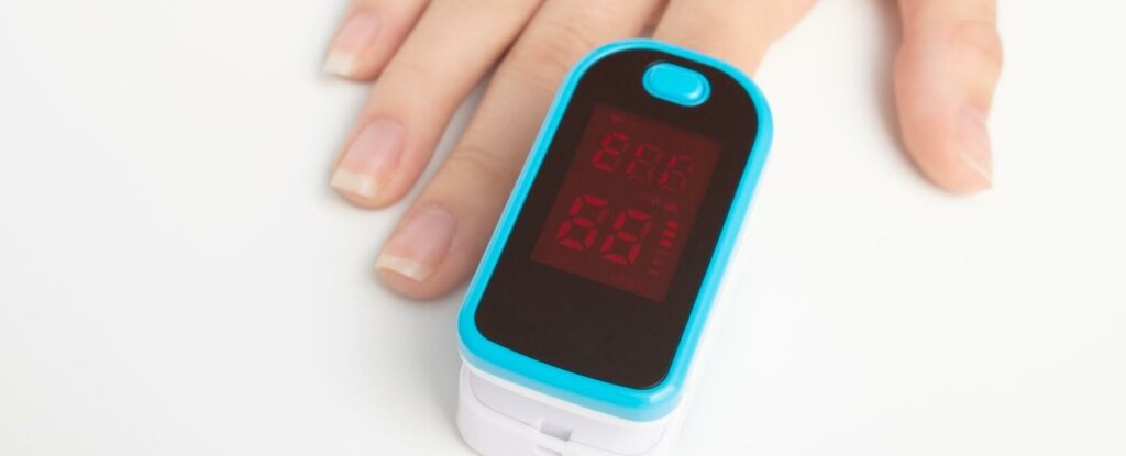 testing your blood oxygen level
